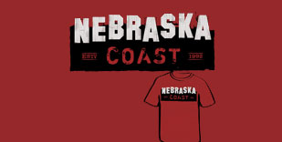 Nebraska Coast T-Shirt