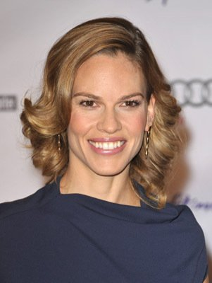 Hilary Swank, actress, multiple Oscar winner, born in Lincoln, NE.
